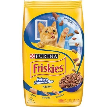 FRISKIES PEIXES E FRUTOS DO MAR 10,1KG