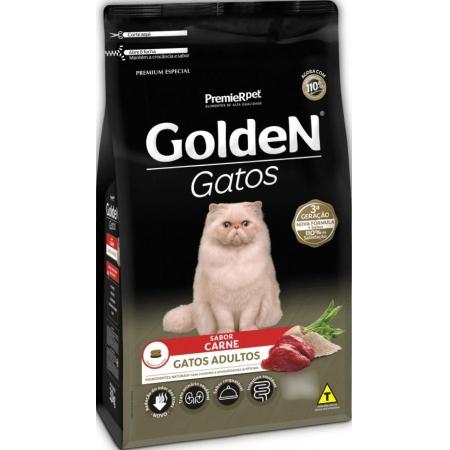 GOLDEN GATOS AD. CARNE 10,1KG