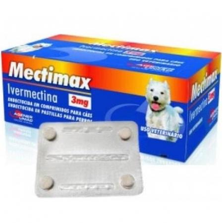 MECTIMAX 3MG C/4 COMP.