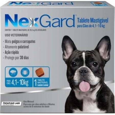 NEXGARD CAES 04.1-10 KG -M