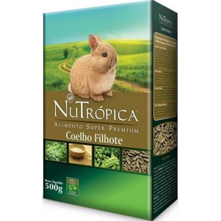 NUTROPICA COELHO FILHOTE 500GR