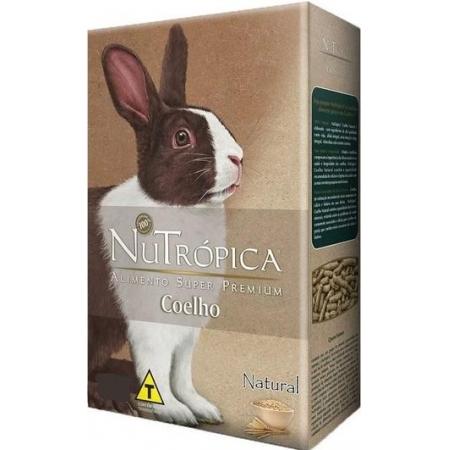 NUTROPICA COELHO NAT. AD. 500GR
