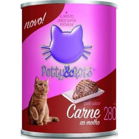 PETTY & GATO LATA SABOR CARNE 280GR