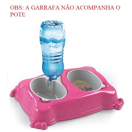 PRATIC COMEDOURO E BEBEDOURO GG CONSULTE CORES
