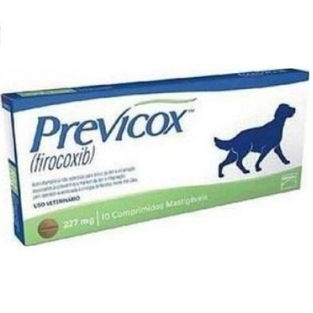 PREVICOX DOG 227 MG X 10 COMP