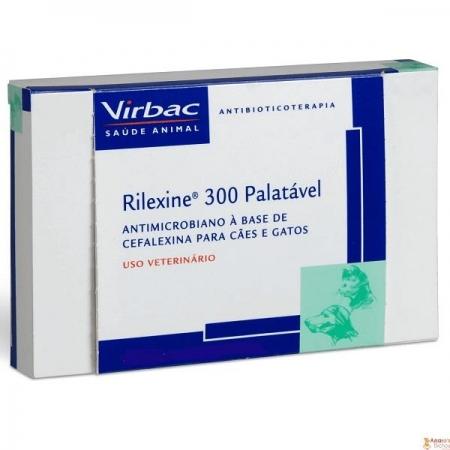 RILEXINE PALATAVEL 300MG 7 COMPRIMIDOS