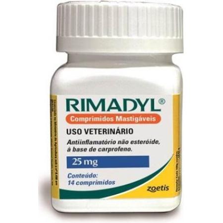 RIMADYL 14 COMP 25MG
