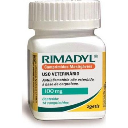 RIMADYL 14COMP. 100MG