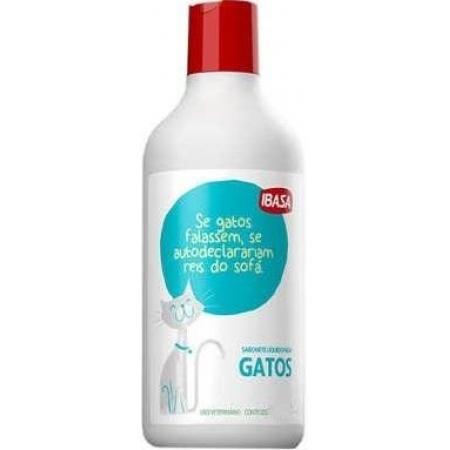 SABONETE LIQUIDO PARA GATOS IBASA 500ML