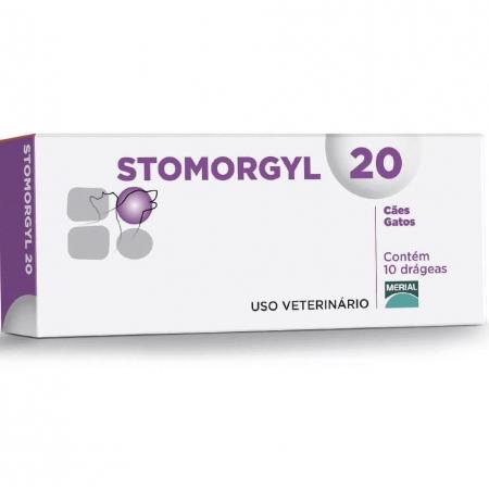 STOMORGYL 20 C/10 COMPRIMIDOS