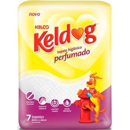 TAPETE HIGIENICO KELDOG PERFUMADO C/7UN