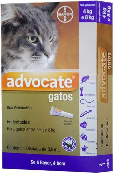 ADVOCATE GATOS 4/8KG