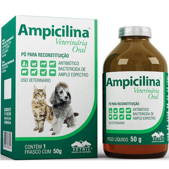 AMPICILINA ORAL PO 50GR