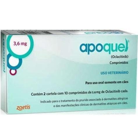 APOQUEL 3,6 MG 20 COMPRIMIDOS