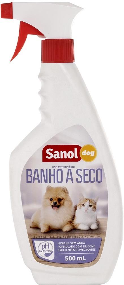 BANHO SECO SANOL DOG 500 ML