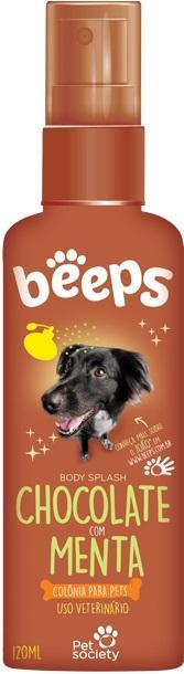 BEEPS BODY SP. CHOCO/MENTA 120ML