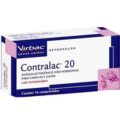 CONTRALAC 20 COM 16 COMPRIMIDOS