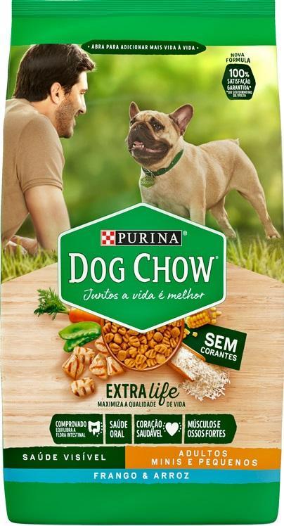DOG CHOW ADULTO RACA PEQUENA FRANGO E ARROZ 15KG