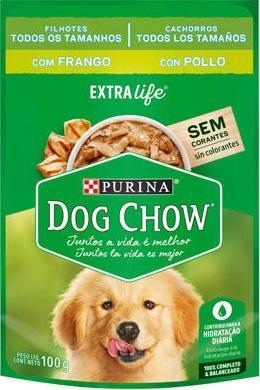 DOG CHOW WET FILHOTE FRANGO TDS TAM 100GR