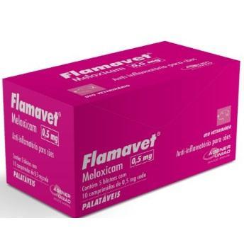 FLAMAVET CAES 0,5 MG 5 COMPRIMIDOS