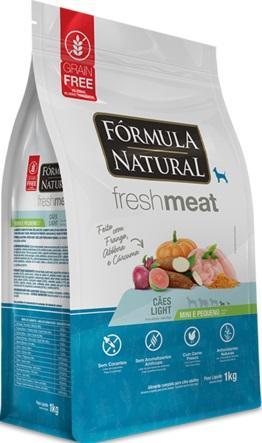FORMULA NATURAL FRESH MEAT LIGHT MIN/PQ 1KG