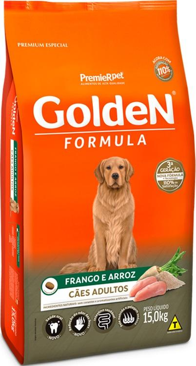 GOLDEN ADULTO FRANGO E ARROZ 15KG