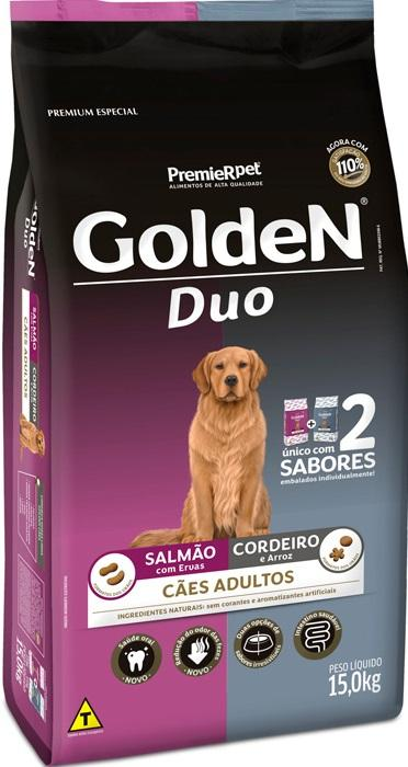GOLDEN DUO SALMÃO/ CORDEIRO 15KG
