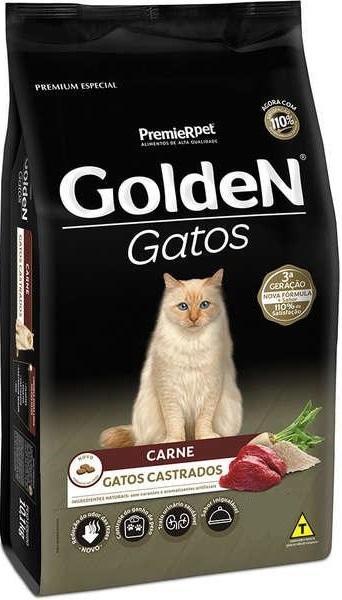 GOLDEN GATOS CAST. CARNE 3 KG