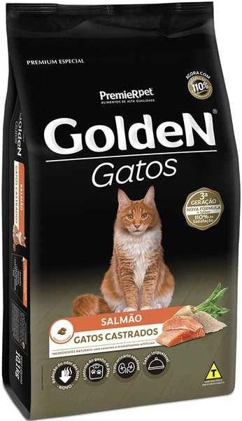 GOLDEN GATOS CAST. SALMAO 1KG