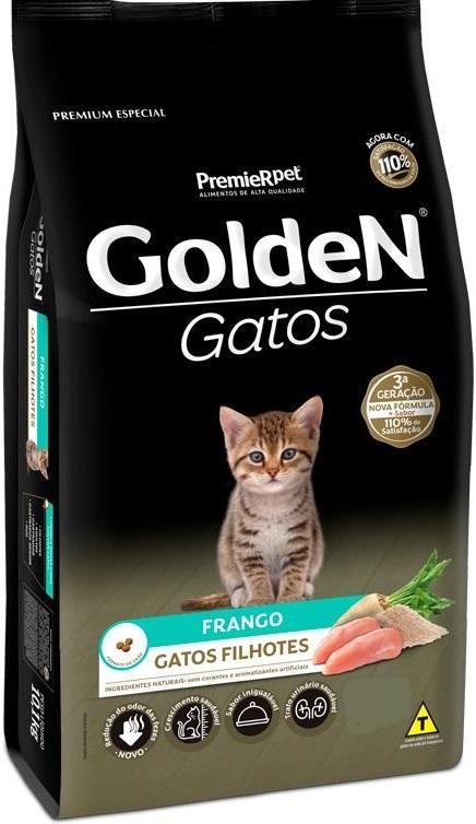 GOLDEN GATOS FILHOTES. 3KG