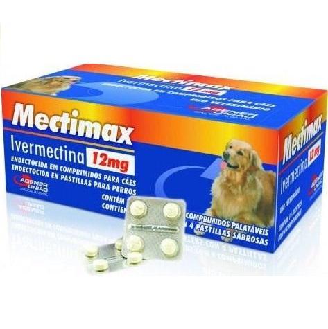 MECTIMAX 12MG CART. C/4C.
