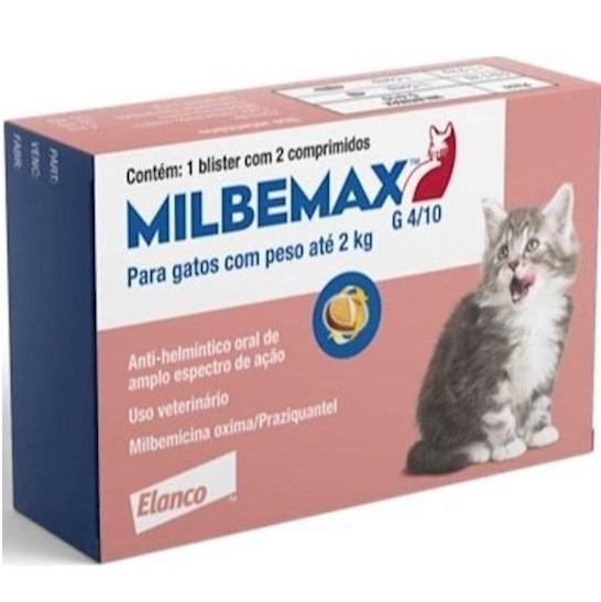 MILBEMAX GATOS G4/10 ATÉ 2KG
