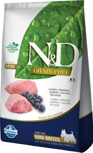 ND PRIME CANINE CORDEIRO ADULTO MINI 2,5KG