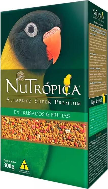 NUTROPICA AGAPORNIS C/FRUTAS 300GR