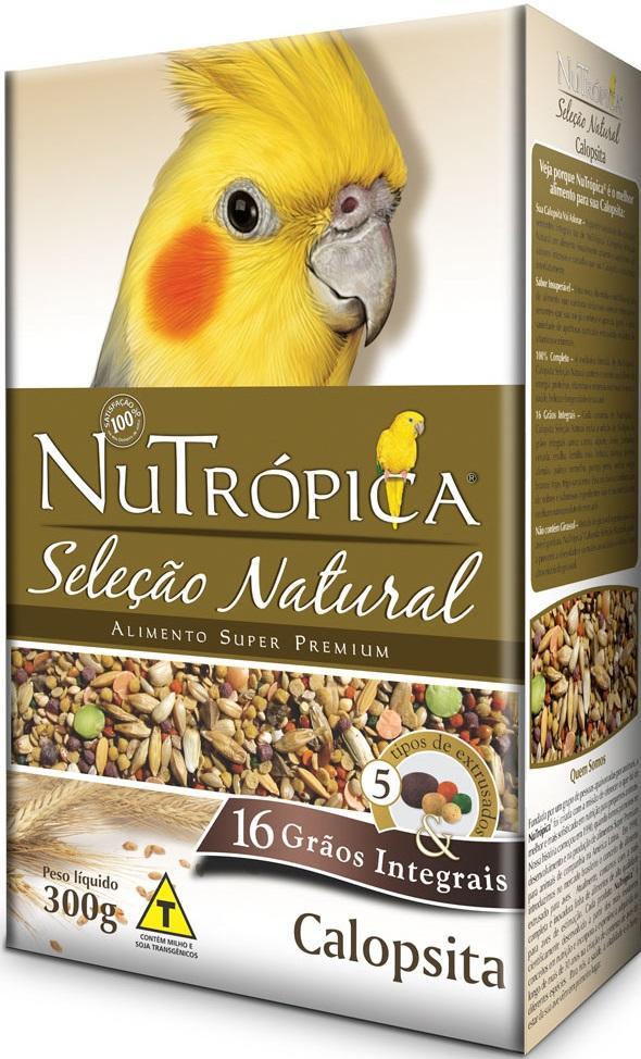 NUTROPICA CALOPSITA SELECAO NATURAL 300 GR