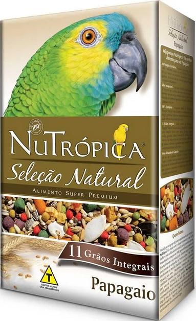 NUTROPICA PAPAGAIO SELECAO NATURAL 300 GR