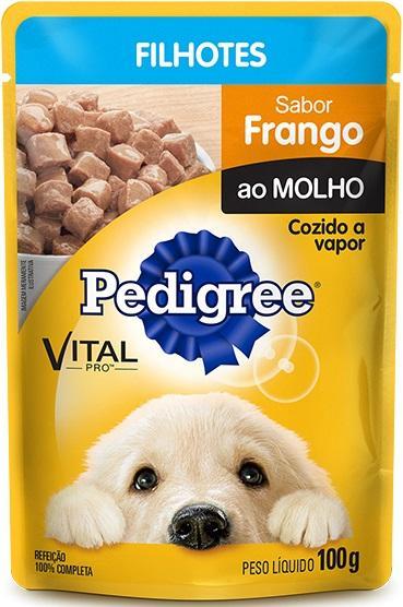 PEDIGREE SACHE FILHOTES FRANGO 100GR