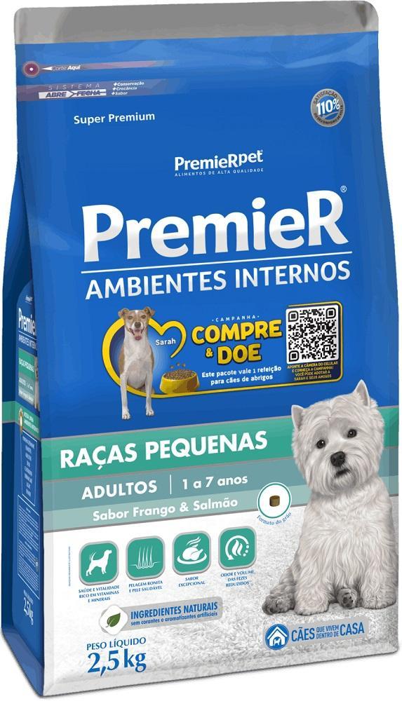 PREMIER AMBIENTES INTERNOS ADULTO 2,5KG