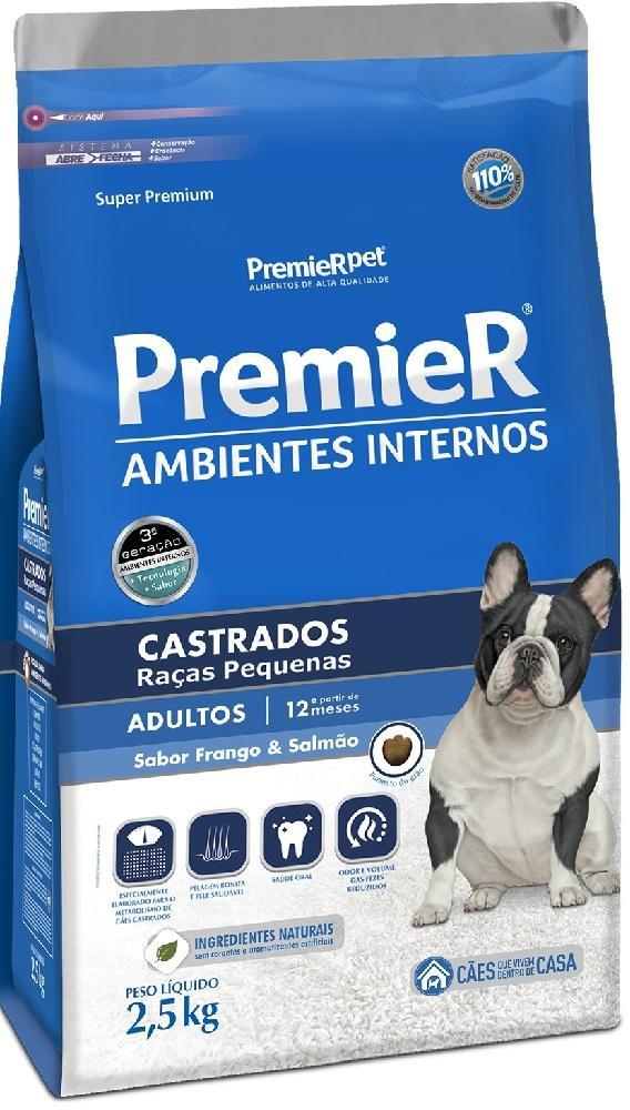 PREMIER AMBIENTES INTERNOS ADULTO CASTRADO 2,5KG