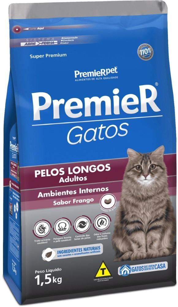 PREMIER GATOS CASTRADOS ATE 7 ANOS 7,5KG