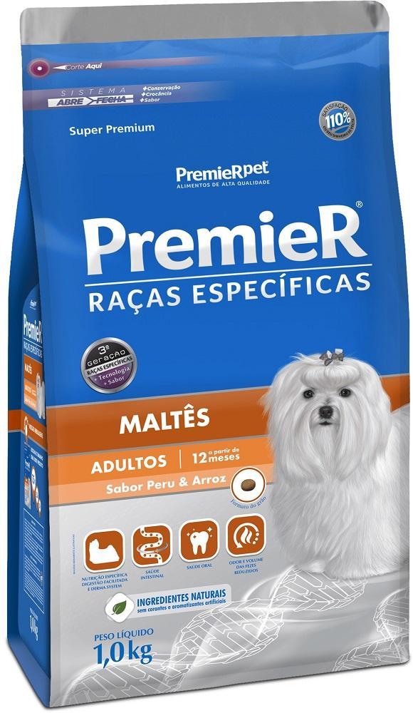 PREMIER R.ESPECIFICAS MALTES ADULTO 1KG