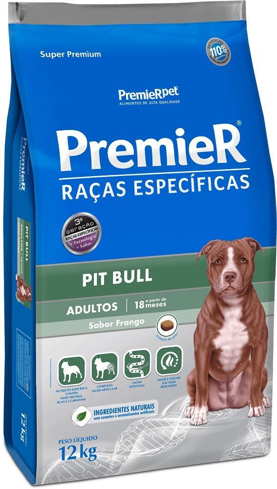 PREMIER R. ESPECIFICAS PITBULL ADULTO 12KG