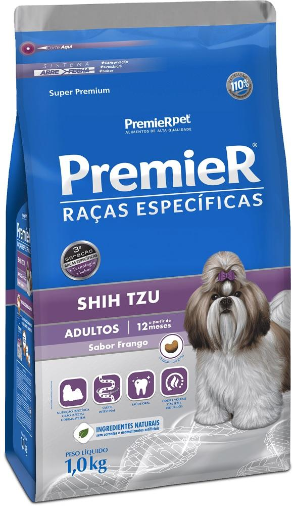 PREMIER R.ESPECIFICAS SHIH-TZU ADULTO 1KG