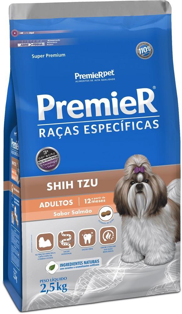 PREMIER R.ESPECIFICAS SHIH-TZU ADULTO SALMAO 2.5KG