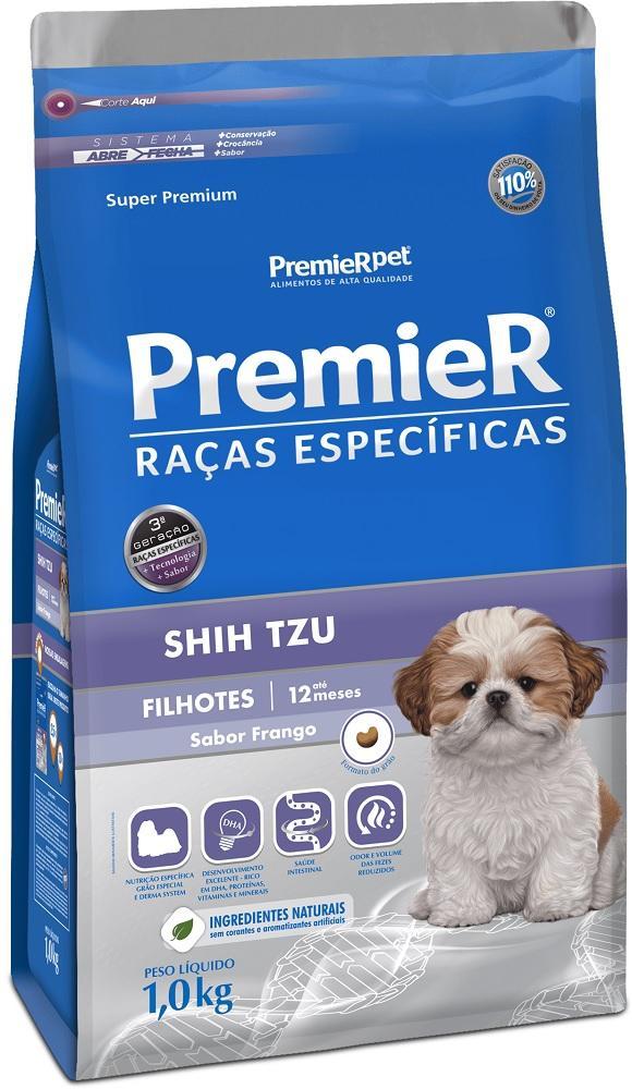PREMIER R.ESPECIFICAS SHIH-TZU FILHOTES 2,5KG
