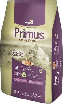 PRIMUS GATOS PREMIUM SALMAO CASTRADOS 3KG