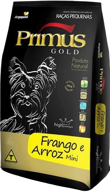 PRIMUS GOLD FRANGO E ARROZ MINI 3 KG