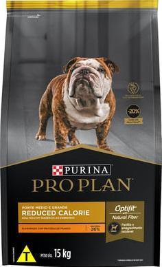 PRO PLAN DOG ADULT REDUCED CALORIE RAC. M & G 15KG