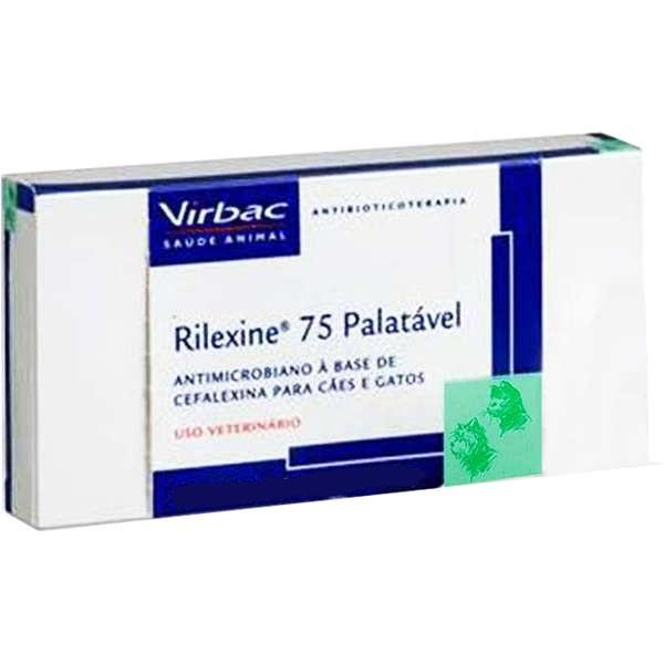 RILEXINE PALATAVEL 75MG 7 COMPRIMIDOS