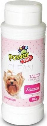 TALCO P/FEMEAS POWERPETS NEEM 100G